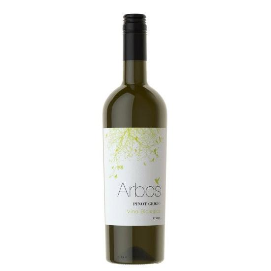 Arbos Pinot Grigio 2019, Organic, Castellani, Terre Siciliane IGT, Sicily, Italy